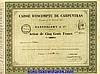 CAISSE D'ESCOMPTE DE CARPENTRAS - BARTHELEMY & CIE., ? (1856) Barthélemy, €50