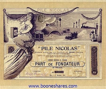 PILE NICOLAS S.A.