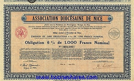 ASSOCIATION DIOCESAINE DE NICE