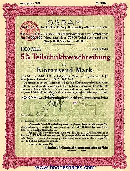 OSRAM GmbH Kg