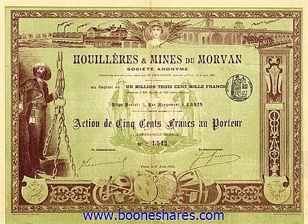 HOUILLERES & MINES DU MORVAN S.A.