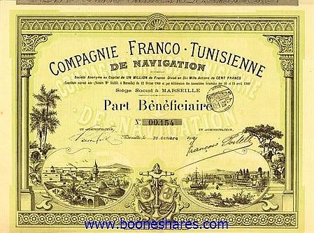 NAVIGATION, CIE. FRANCO-TUNISIENNE