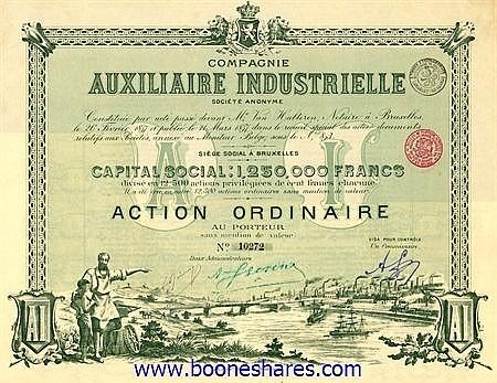 AUXILIAIRE INDUSTRIELLE S.A., CIE.