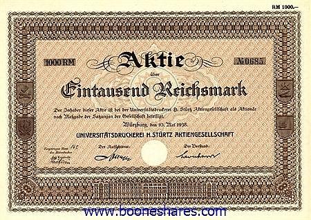 UNIVERSITÄTSDRUCKEREI H. STÜRTZ AG