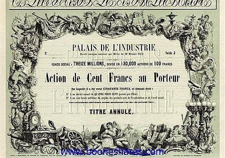 PALAIS DE L'INDUSTRIE S.A.