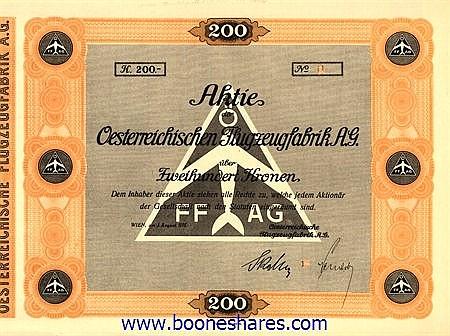 OESTERREICHISCHE FLUGZEUGFABRIK AG