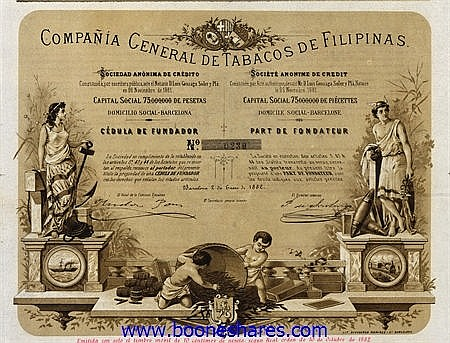 TABACOS DE FILIPINAS, CO. GENERAL DE