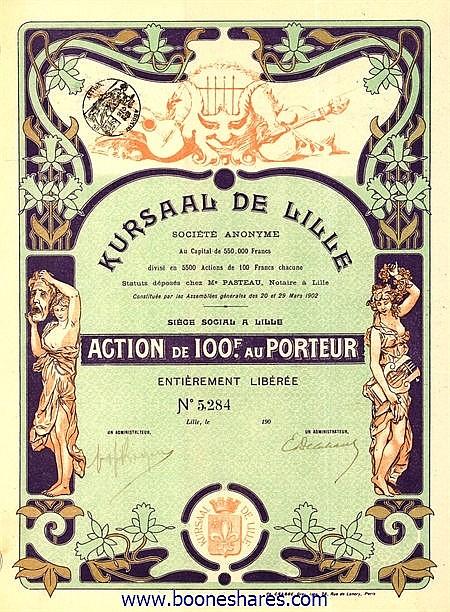 KURSAAL DE LILLE S.A.