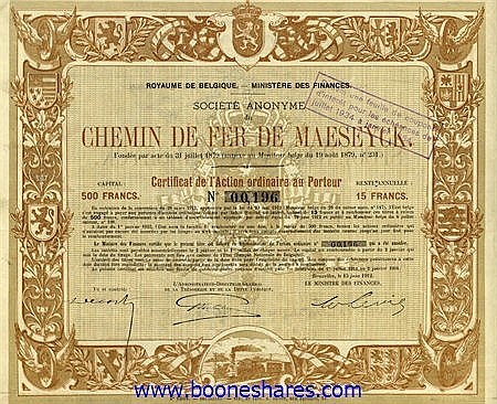 C.D.F. DE MAESEYCK S.A.