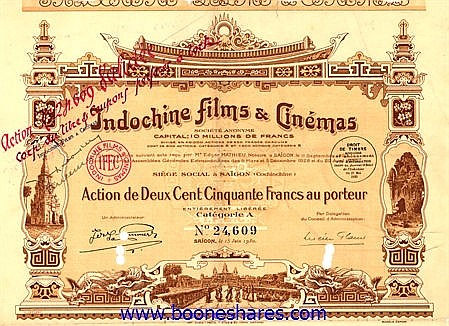 INDOCHINE FILMS & CINEMAS S.A.