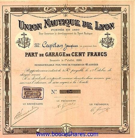 UNION NAUTIQUE DE LYON