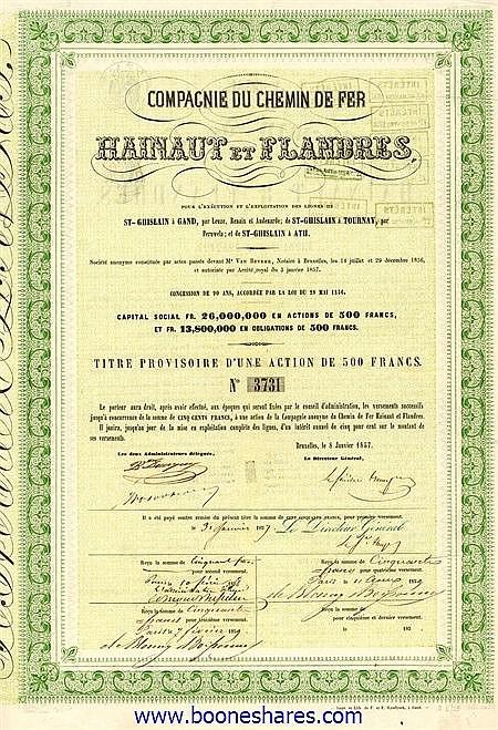 C.D.F. HAINAUT ET FLANDRES S.A.