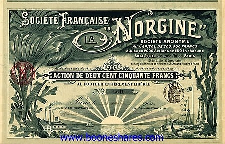 LA NORGINE, SOC. FRANCAISE
