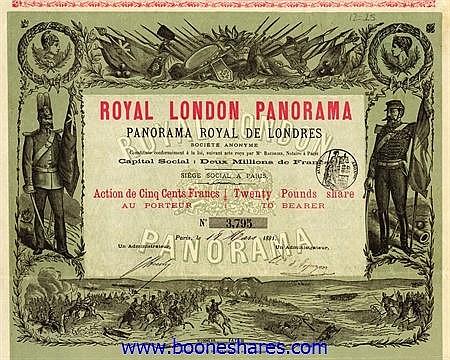 ROYAL LONDON PANORAMA - PANORAMA ROYAL DE LONDRES S.A.