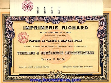 IMPRIMERIE RICHARD