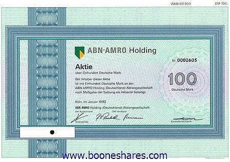 ABN-AMRO HOLDING (Deutschland) AG