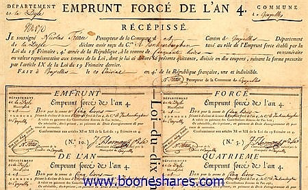 EMPRUNT FORCE DE L'AN 4