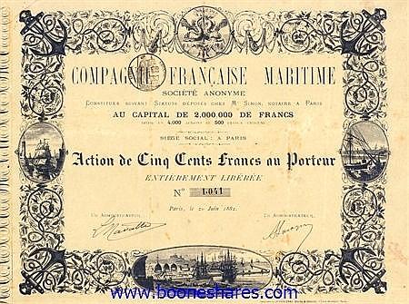 MARITIME, CIE. FRANCAISE