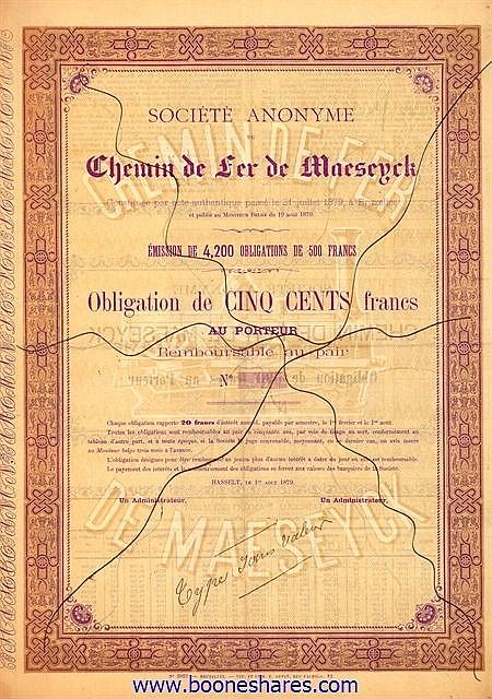 C.D.F. DE MAESEYCK, S.A. DU