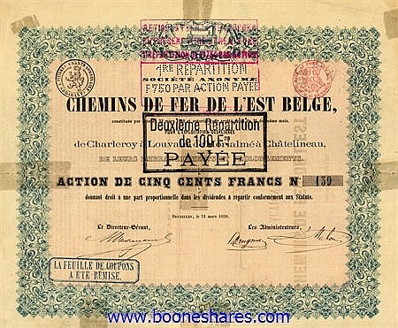 C.D.F. DE L'EST BELGE