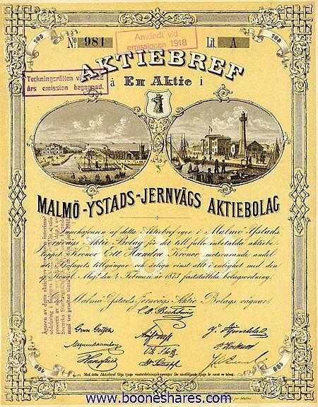 MALMÖ-YSTADS-JERNVÄGS A/B