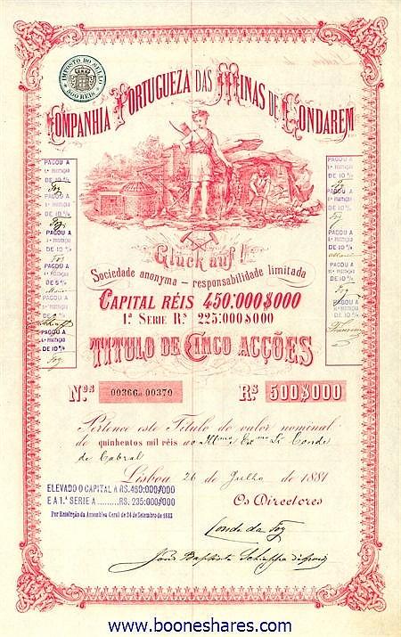 MINAS DE GONDAREM, CIA. PORTUG.