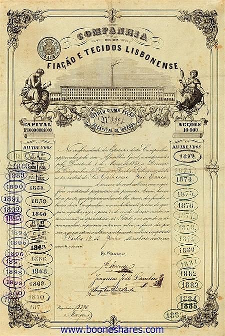 FIACAO E TECIDOS LISBONENSE, CIA. DE