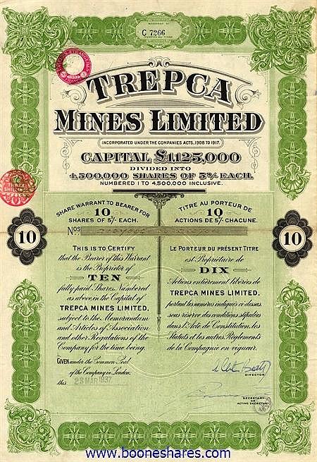 TREPCA MINES LTD