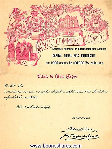 BANCO COMMERCIO PORTO S.A.