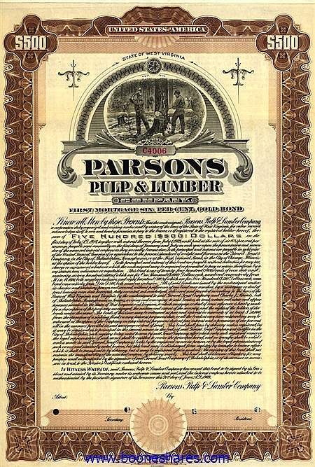 PARSONS PULP & LUMBER CO.