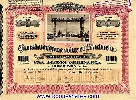 TRANSBORDARORES SOBRE EL RIACHUELO S.A.