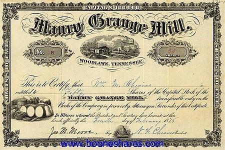 MAURY GRANGE MILL