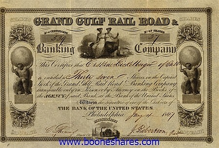 GRAND GULF RAIL ROAD & BANKING CO.