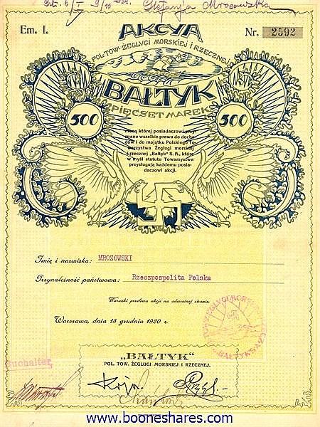 BALTYK, S.A.
