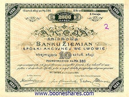 BANKU ZIEMIAN - LAND BANK