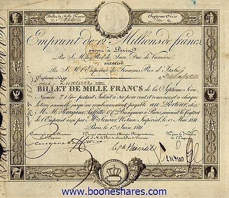 EMPRUNT DE 12 MILLIONS DE FRANCS