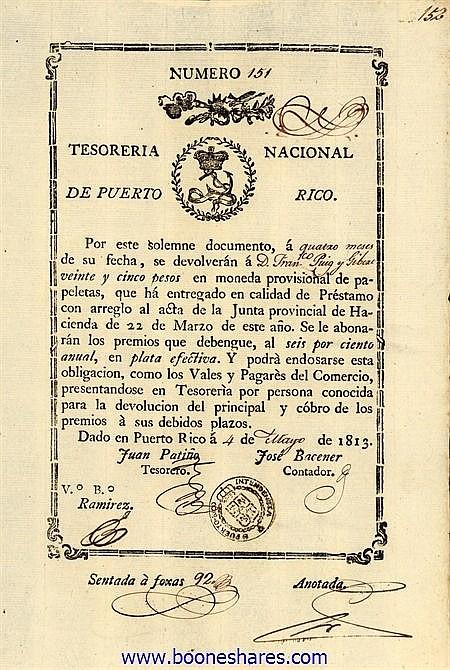TESORERIA NACIONAL DE PUERTO RICO