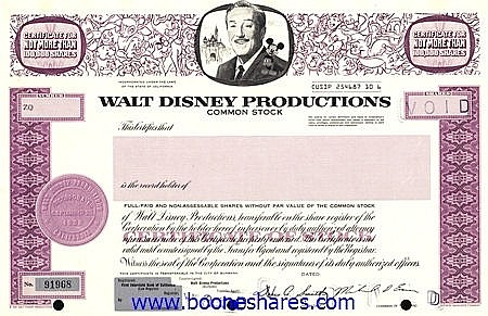 WALT DISNEY PRODUCTIONS
