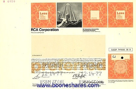 RCA CORPORATION