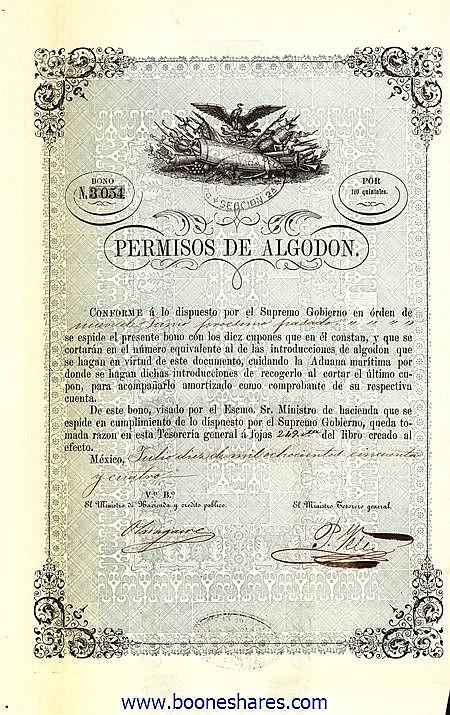 PERMISOS DE ALGODON