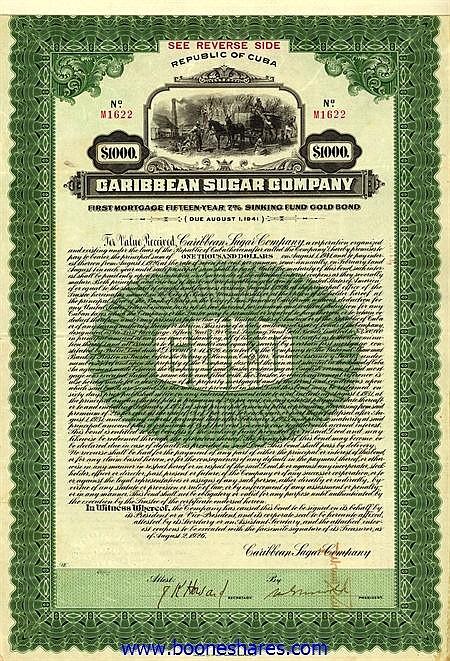 CARIBBEAN SUGAR CO.
