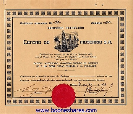 PETROLERA CENTRO DE MOTEMGO S.A.