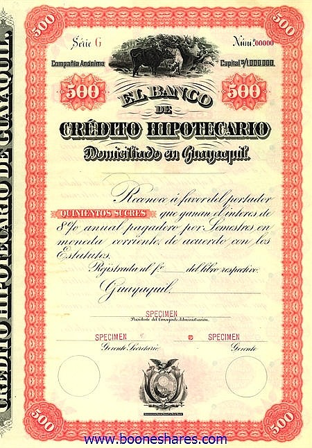 EL BANCO DE CREDITO HIPOTECARIO