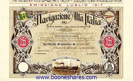 NAVIGAZIONE ALTA ITALIA S.A.