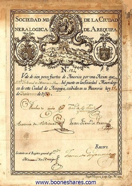 MINERALOGICA DE LA CIUDAD DE AREQUIPA, SOC.