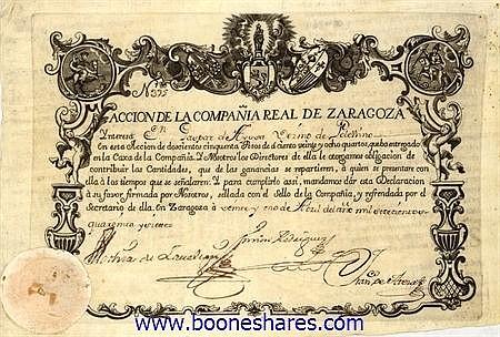 REAL DE ZARAGOZA, COMPANIA