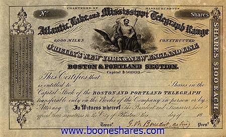 BOSTON AND PORTLAND TELEGRAPH