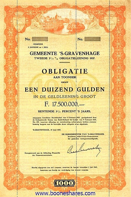 GEMEENTE 'S-GRAVENHAGE