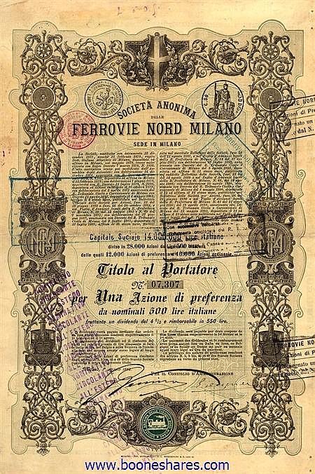 FERROVIE NORD MILANO, S.A. DELLE