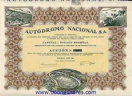 AUTODROMO NACIONAL SA.